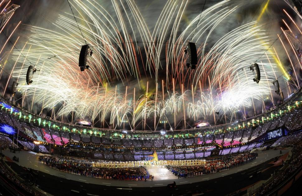 ロンドンオリンピック花火