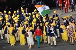 インド人女性乱入