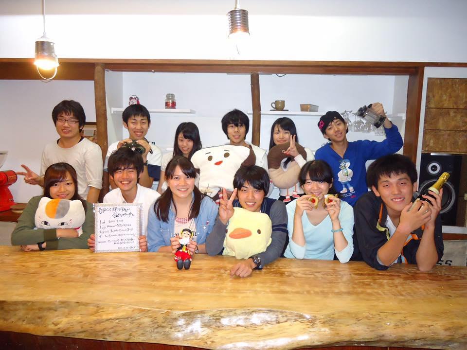 学生が創るcafé flat